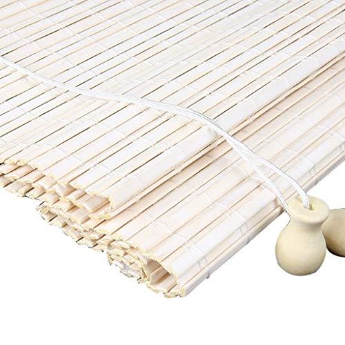 GLJJQMY Raffrollo Bambus Vorhang Chinesische Römische Vorhang Hebesystem Hängevorhang Verdunkelung Dekoration Zuhause Wohnzimmer, Bambus, a, 130x250cm