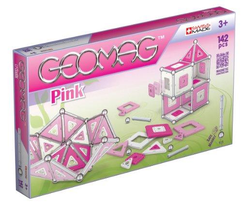 Preisvergleich Produktbild Geomag 343 - Pink Panels, 142-teilig