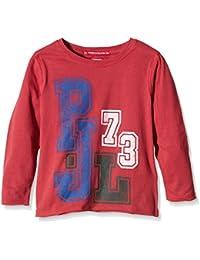 Pepe Jeans Tom, Camiseta para Bebés, Rosso, 24 Meses