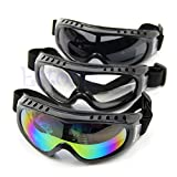 #6: Generic Clear : Safety Outdoor Skiing Goggles Coated Sport Dustproof Sunglass Eye Glasses New