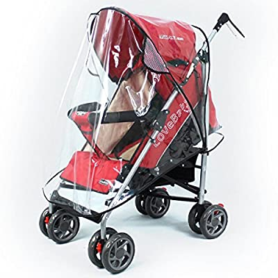LEORX Cubierta impermeable transparente de la cubierta de lluvia universal para silla de paseo silla de paseo silla de paseo Buggy