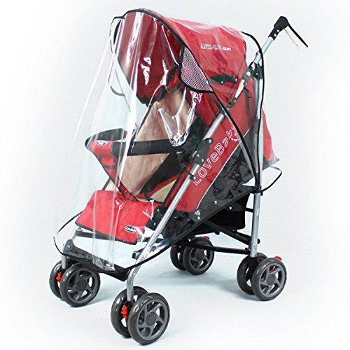 Tinksky universale passeggino passeggino carrozzina passeggino copertina antipioggia trasparente pioggia ombra