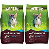 Meat Up Kitten(1-12 months) Dry Cat Food, Ocean Fish, 1.2kg (BUY 1 GET 1 FREE)