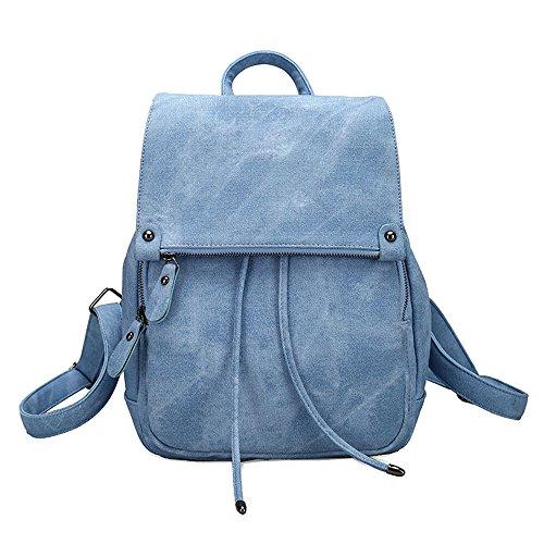Damen Kleinen Rucksack Umhängetasche Handtasche Mädchen Schulrucksäcke Casual Daypack PU Leder Rucksäcke Reise Schultasche