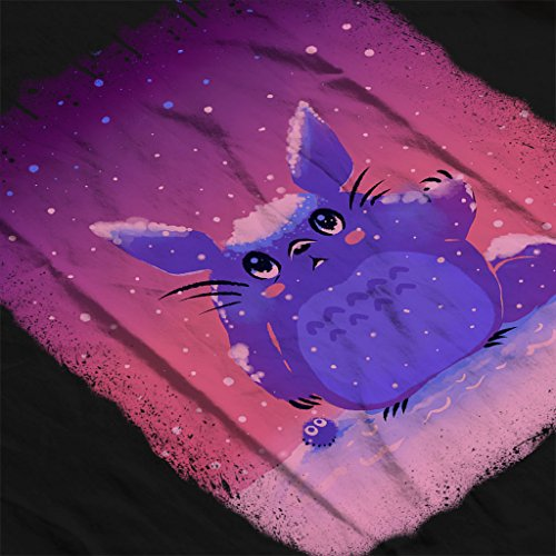 Cloud City 7 Snow Totoro Winter Christmas My Neighbor Totoro Women's Vest Black