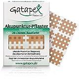 Gatapex Boîte de 120 pansements d'acuponcture classiques avec structure en grillage