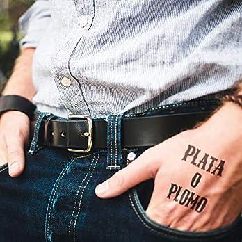 Plata o Plomo – 2 Temporäres Tattoos