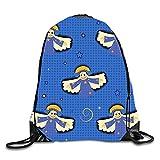 gthytjhv Drawstring Backpack Rucksack Shoulder Bags Gym Bag Travel Backpack Optical...