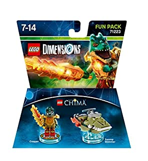 Figurine 'Lego Dimensions' - Cragger - Lego Chima : Pack Héros (B00Z7EC81I) | Amazon Products