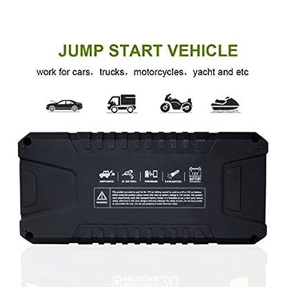 51wwZjb2AAL. SS416  - Dr.Auto - Arrancador de Coches 1000A, 20000mAh, Jump Starter Portatil 12V Baterías Soporte Vehículo de Gasolina