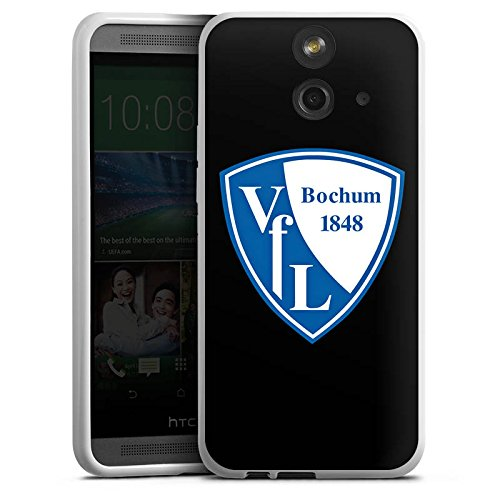 DeinDesign HTC One E8 Silikon Hülle Case Schutzhülle VFL Bochum Fanartikel VFL Fußball
