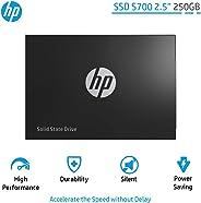 HP SSD S700 2.5 Inch 250GB SATA III 3D NAND Internal Solid State Drive (2DP98AA)