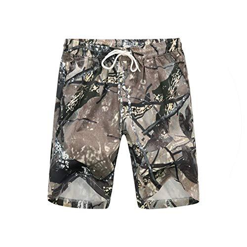 Summer Casual Shorts Men Cargo Shorts Print Men Military Camo Short Pants Pantalon Homme 5XL,Sky Blue,L (Cargo Short Stone Camo)