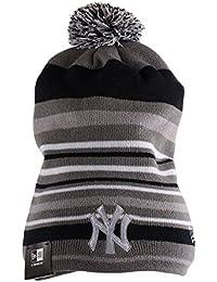 New Era Stripe Out Slouch/Cuff Beanie (New York Yankees)