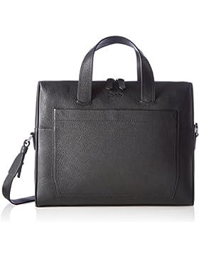 HUGO Herren Twin_s Doc 10202062 01 Business Tasche, Schwarz (Black), 6.5 x 29.5 x 38 cm
