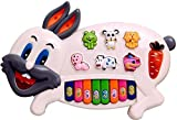 #10: Toykart Rabbits Musical Piano With 3 Modes Animal Sounds, Flashing Lights & Wonderful Music
