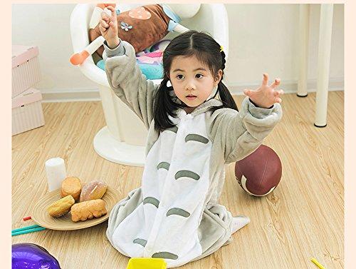 Tonwhar® Children' s Halloween Costumes Kids Kigurumi Onesie Animal Cosplay Mehrfarbig - Totoro