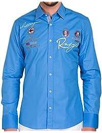 "Redbridge by Cipo & Baxx Herren Hemd ""R-2130"" blue"
