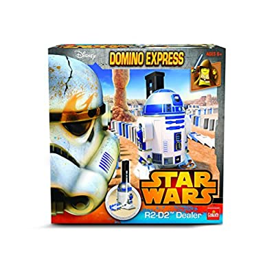 Goliath - 80984.006 - Jeu De Construction - Domino Star Wars Power Dealer R2d2
