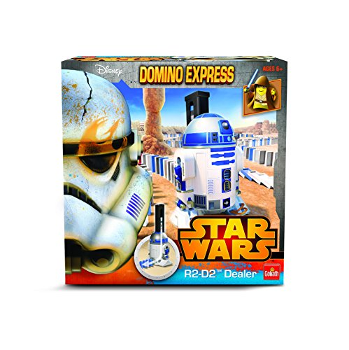 Goliath - 80984.006 - Jeu De Construction - Domino Star Wars Power Dealer R2d2