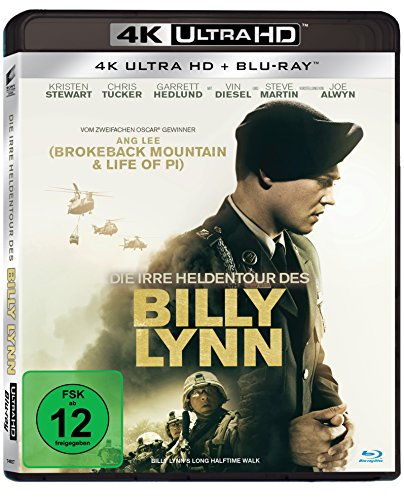 Die irre Heldentour des Billy Lynn - Ultra HD Blu-ray [4k + Blu-ray Disc]