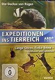 Expeditionen ins Tierreich (ARD / Weltbild) - 2 Folgen - Die Dachse von Rügen + Lange Ohren, flinke Beine - Feldhasen und Kaninchen