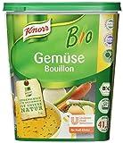 Knorr Bio Gemüse Bouillon Gemüsebrühe (aus rein pflanzlichen, hochwertigen Bio-Rohstoffen) 1er Pack (1 x 1kg)