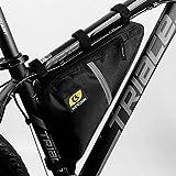Fahrrad-Rahmentasche Triangle Bag Wasserdicht Bicycle Triangle Frame Bag Mountainbike Satteltasche