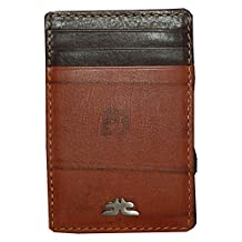 Laveri Brown Leather For Unisex - Card & ID Cases
