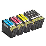 10er Set Tintenpatronen kompatibel zu Epson T29XL mit Chip für EPSON Expression Home XP-235 / XP-330 Series / XP-332 / XP-335 / XP-430 Series / XP-432 / XP-435