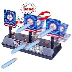 15000P Cible Electronique pour Nerf, Score Automatique, Cible d'exercice, Jeu de Tir pour Infinus/Nerf Disruptor/Nerf Stryfe/Nerf Elite/Nerf Modulus