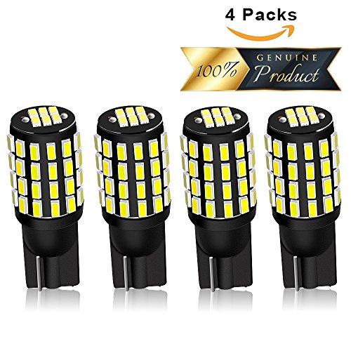 4-x-T10-W5W-LED-54-3014SMD-Deckenbeleuchtung-Fr-Auto-Innenlampen-Sidemarker-Leselicht-KennzeichenbeleuchtungLeselampe-Ersatz-KFZ-Beleuchtung-Birne-Wei-6000K