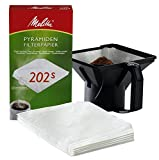 Melitta Professional Pyramidenfilterpapier Pa SF 202 S