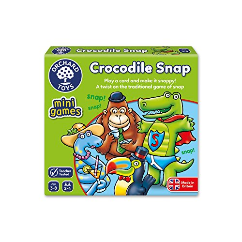 Orchard Toys Crocodile Snap Stocking Filler