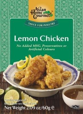 ASIAN HOME GOURMET, Sauce For Cantonese Lemon Chicken, 50g