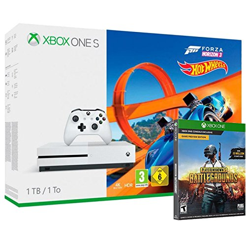 Pack Console Xbox One S 1 To Forza Horizon 3 + Hot Wheels + PlayerUnknown's Battlegrounds