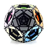 Ysss Múltiples Cubos de Cinco Rubik Doce Caras en Forma de Demonios Dobles mágicos Juguetes educativos oblicuos Muy difíciles