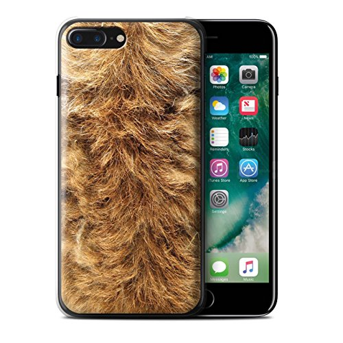 Stuff4 Hülle / Case für Apple iPhone 7 / Leopard Muster / Tierpelz Muster Kollektion Hund