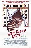 New Year's Evil Fine Art Print (27.94 x 43.18 cm)