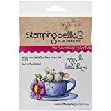"Stamping Bella Cling Rubber Stamp 4.5""X6.5""-Maisy & Madeline Have Some Tea"