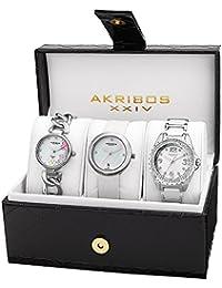 Akribos XXIV Set de 3 relojes Ak887Ss 36 mm