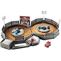 Disney Cars FLG71 Mini Racers Crank and Crash Derby Playset