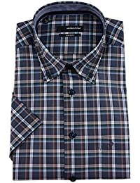 Seidensticker - Camisa formal - Cuadrados - Clásico - para hombre