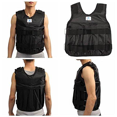 mark8shop Gewichtsweste Zug Weste verstellbar Übung Martial Boxen Zooboo weightloading Sand Kleidung (Übung Kleidung)