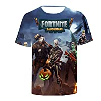 2f7963fe3a0 Fortnite 3D printing T-shirt round neck short sleeve fashion T-shirt
