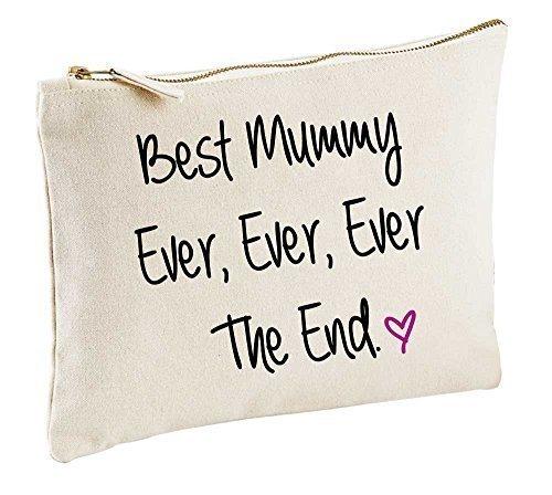 meilleur Mummy Jamais Jamais Jamais The End naturel Trousse de Maquillage cadeau idée produits cosmétiques Sac articles de toilette fête des mères