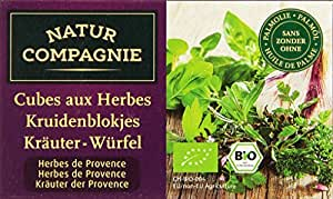 Natur Compagnie Bouillon Herbes Provence 8 Cubes Bio