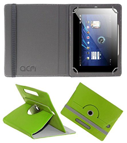 Acm Rotating 360° Leather Flip Case for Karbonn Smart Tab 3 Blade Cover Stand Green  available at amazon for Rs.149