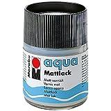 Marabu 113605000–Aqua lacado mate, 50ml, transparente
