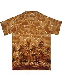 Original King Kameha | Funky Camisa Hawaiana Señores | XS-12XL |Manga Corta Bolsillo Delantero | impresión De Hawaii| Delfín |difernetes colores